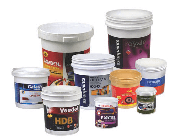 plastic pail containers manufacturer in India